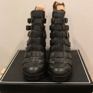 Modern Vice Cleopatra Buckle Boots